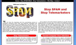Stopping SPAM and Other Online Security Problems